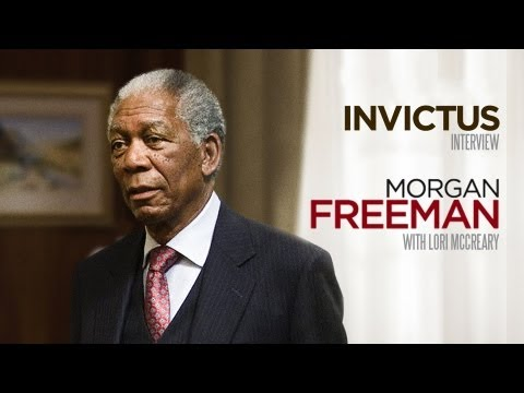 Invictus - Interview with Morgan Freeman and Lori McCreary