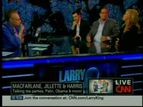 Penn Jillette Debates Seth MacFarlane and Rachel Harris about The Tea Party and Racism