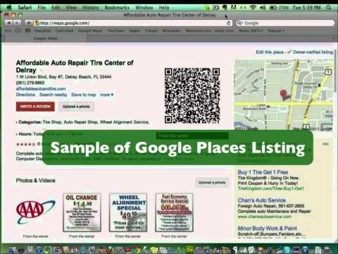 Google Places Listing Enhancement: Get Found with Online Video Marketing