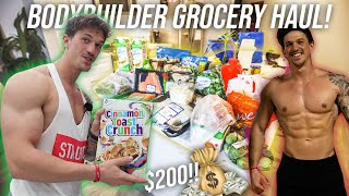 HOW TO GROCERY SHOP LIKE A BODY BUILDER - GAIN MUSCLE & GET SHREDDED | SHRED SERIES EP. 3