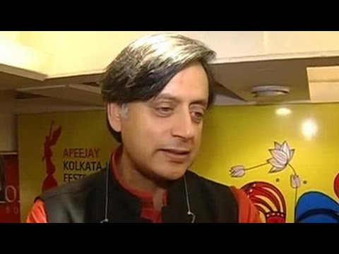 Media trial means more interest in my book: Shashi Tharoor to NDTV