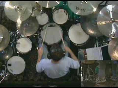 Casey Grillo's drum solo at home