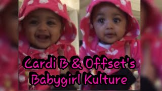 Cardi B Reveals Baby Kulture Dancing To Daddy Offset's Song & That LAUGH 😍😍