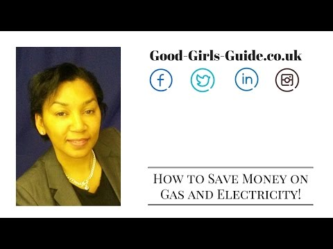 How to save money on gas and electricity bills (part one)
