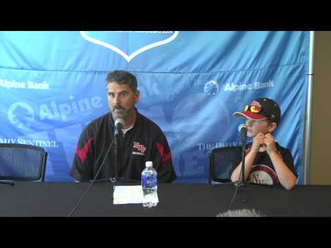 Northwest Florida State Post v. McLennan: 2015 JUCO World Series