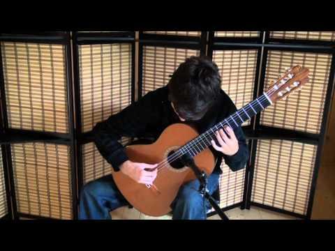 Jamie Dupuis - Koyunbaba (Presto) - Carlo Domeniconi - Classical guitar