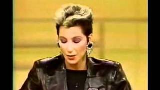 Cher - Donahue Show (1985) Part 3