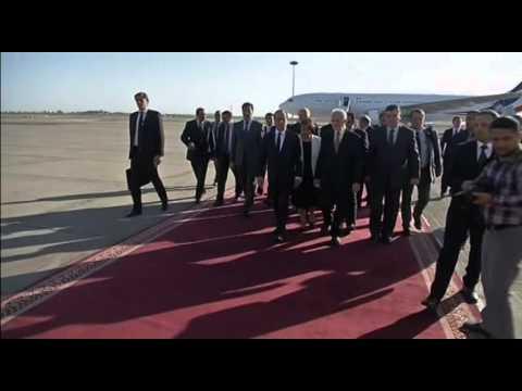 5146 IRAQ-CRISIS HOLLANDE ARRIVAL PRESIDENT
