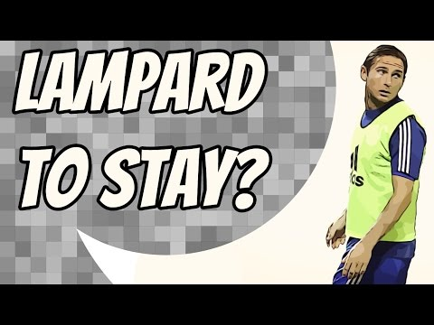 Manchester City want to extend Frank Lampard's loan spell
