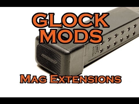 GLOCK MODS! : Arredondo 5 Round Magazine Extensions