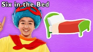 🛏️Six in the Bed and More | PRETEND PLAY SONGS | Nursery Rhymes from Mother Goose Club!