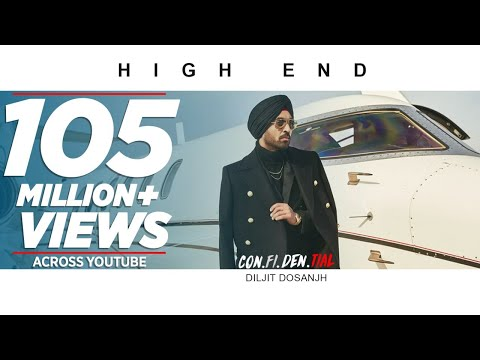 Official Video High End CON FI DEN TIAL Diljit Dosanjh Song 2018