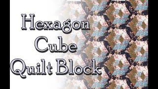 Hexagon Block Quilt Pattern