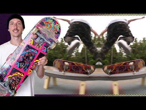 TOM ASTA: SWITCH VS REGULAR | Santa Cruz Skateboards
