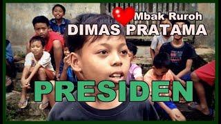 Bocah SD Dimabuk CINTA, Bercita Jadi Presiden DIMAS & MBAK RUROH