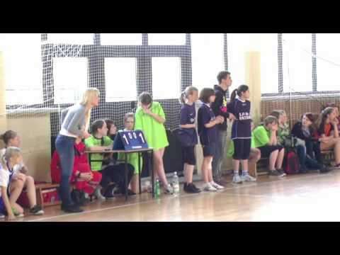 IMS - Piłka Ręczna Dziewcząt - Zawody Powiatowe - Porąbka Uszewska, 23.04.2012