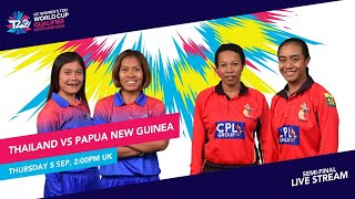 Thailand v PNG LIVE: ICC T20 World Cup Qualifier Semi-final