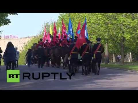 Russia: Watch Cossacks equestrian masterclass for Victory Day parade