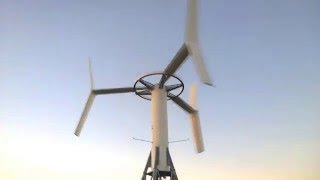 Vertical Wind Turbine - 200kW VAWT ANew-M1