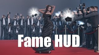Fame HUD in Second Life