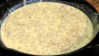 How to make Sausage Gravy - Biscuits and Gravy