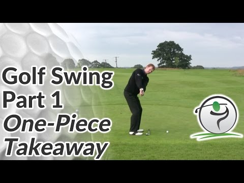 golf swing sequence part 1 the one piece takeaway youtube. Black Bedroom Furniture Sets. Home Design Ideas