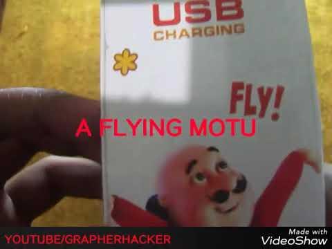 UNBOXING MOTU PATLU TOYS . A FLYING MOTU WITH REMOT CONTROL thumbnail
