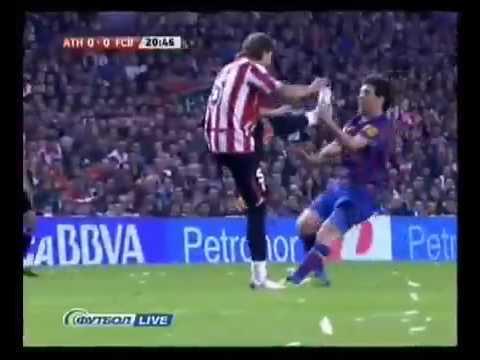 Patada Voladora Sobre Messi