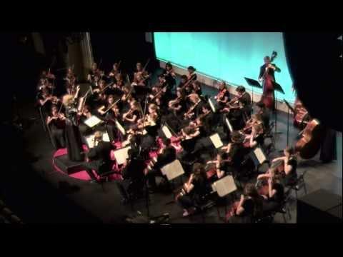 Charlottesville High School Orchestra: Laura Mulligan Thomas at TEDxCharlottesville 2013