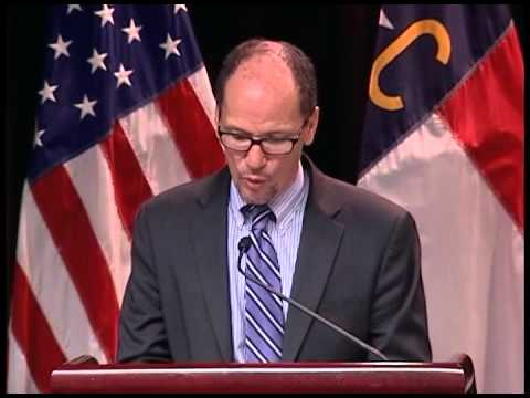 Mission Critical Operations at Cleveland Community College: Secretary Thomas Perez
