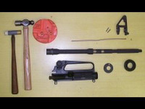 AR15 Barrel Assembly