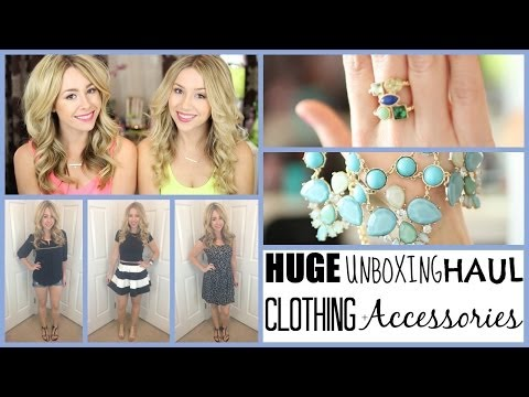 HUGE Unboxing Spring Haul 2014 - Clothing, Accessories, +more!
