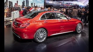 2019 Mercedes-Benz C-Class L Sedan unveiled at Auto China 2018