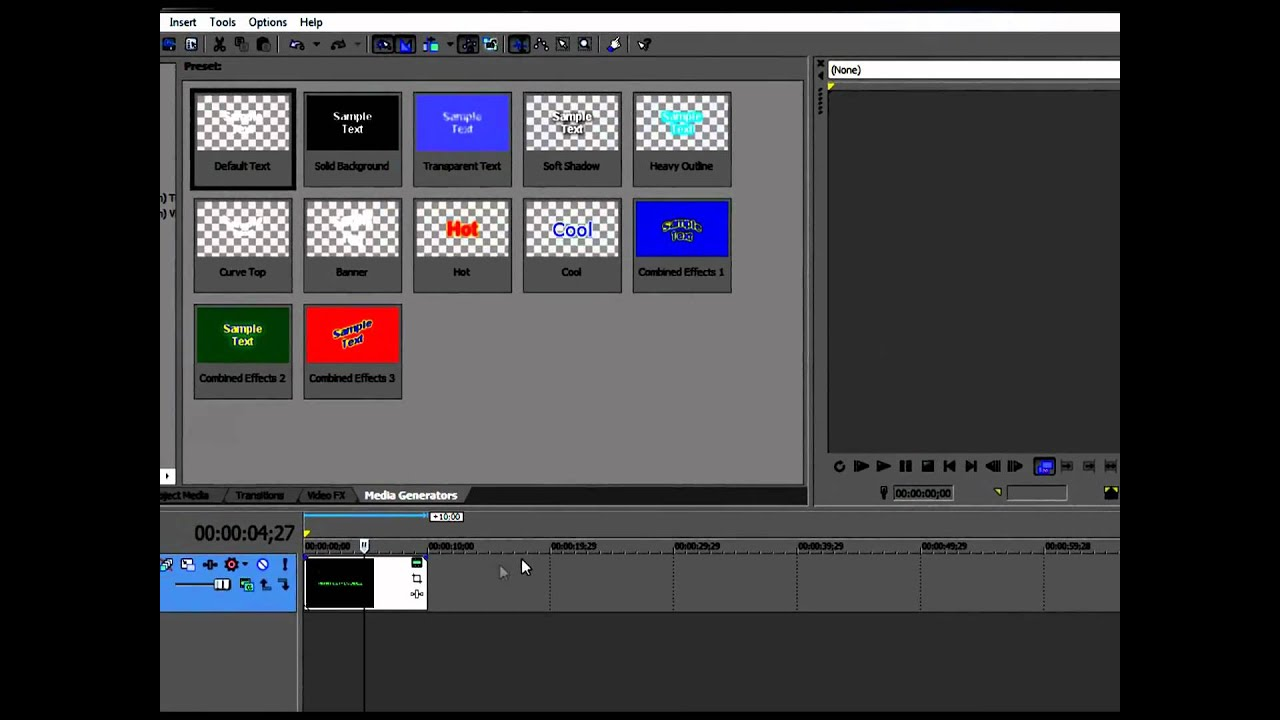 how to use sony vegas pro 10 for beginners
