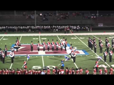 Arrowhead High School Marching Band Homecoming 2011-Pre-Game Highlights