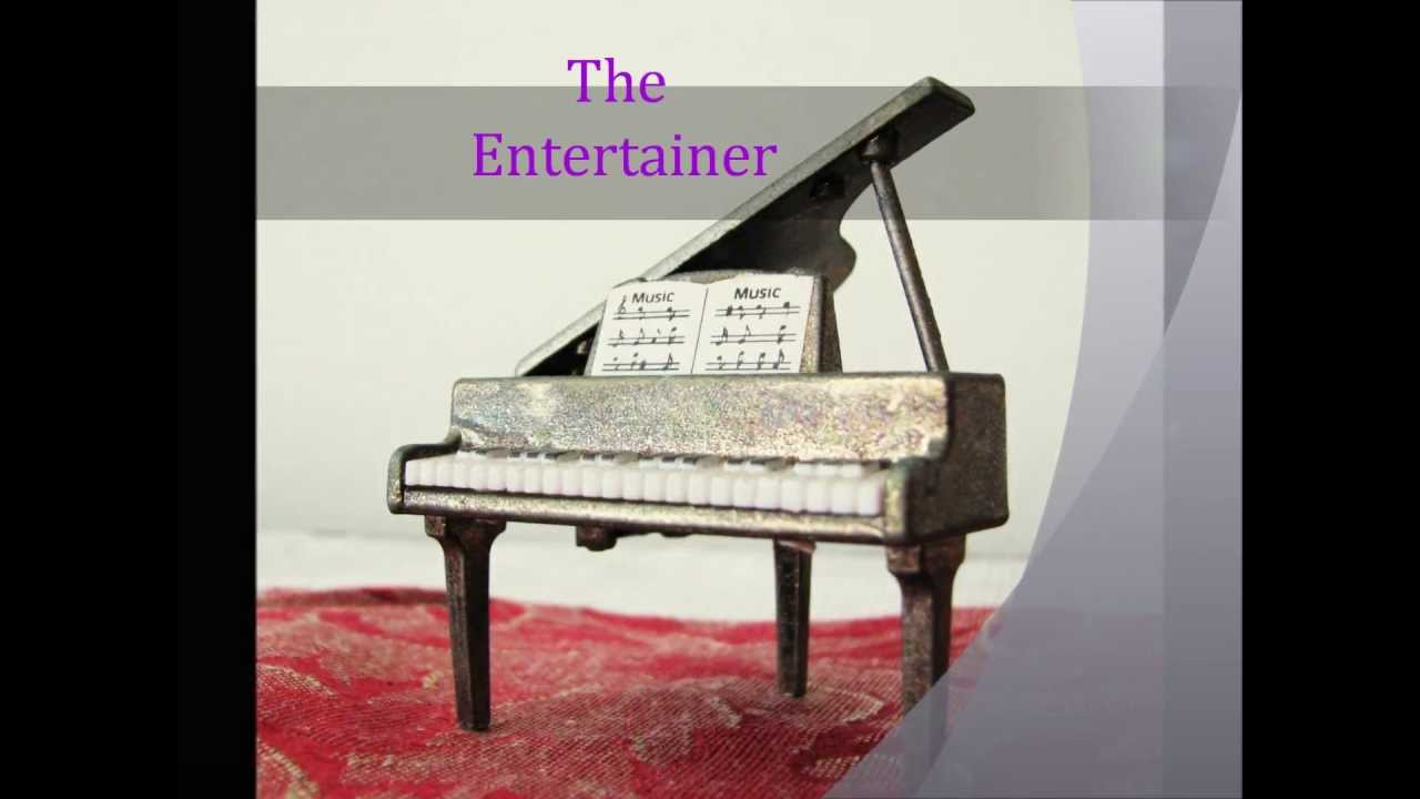 the entertainer easy piano pdf