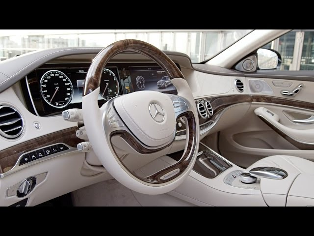 2016 Mercedes-Maybach S-Class INTERIOR - YouTube