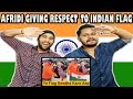 Indian Reaction On Shahid Afridi Gave respect to Indian flag | Krishna Views