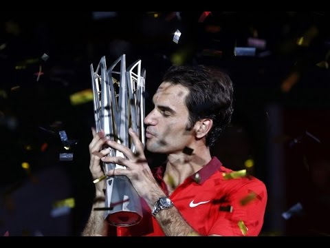 Roger Federer - Perpetual Win [Federer's Best Points Shanghai 2014]