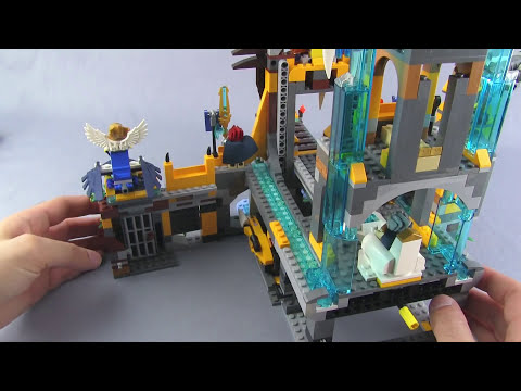 LEGO Chima Lion Chi Temple 70010 set review!