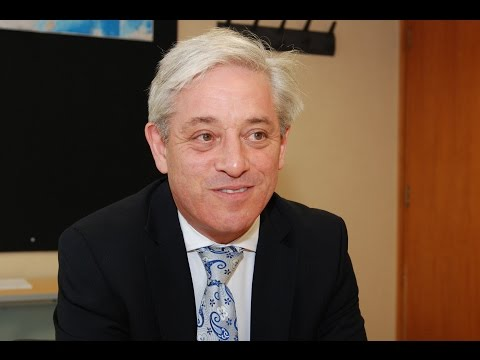 Rt Hon John Bercow's thoughts on BREXIT and the EU Referendum