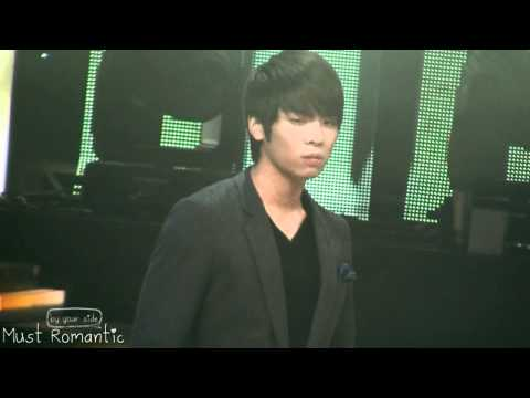 [fancam] 101205 SHINee / SM the ballad jonghyun expression changes @ Inki