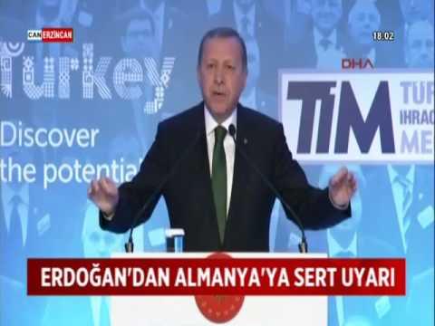 Cumhurbaşkanı Erdoğan'dan Almanya'ya Sert Soykırım Çıkışı