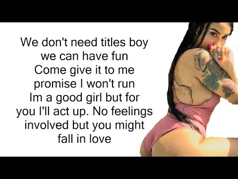 Ar'mon And Trey ft. Queen Naija - No Strings (LYRICS)