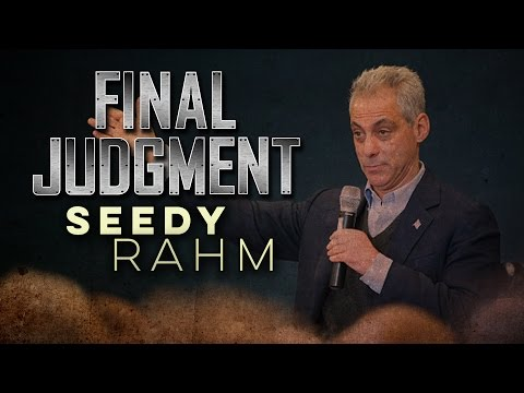 Rahm Emanuel A Progressive? FINAL JUDGMENT