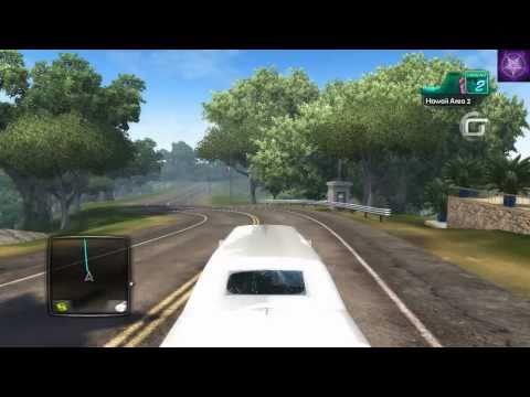Test Drive Unlimited 2 (TDU2) - hacks - traffic cars and tuned Ferrari