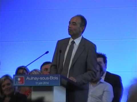 Dernier discours de Jean-François Copé à Aulnay-sous-Bois en tant que président UMP