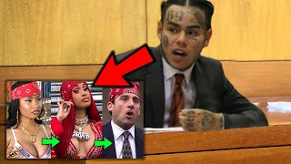6ix9ine Snitching On Everyone In Court *RARE FOOTAGE*