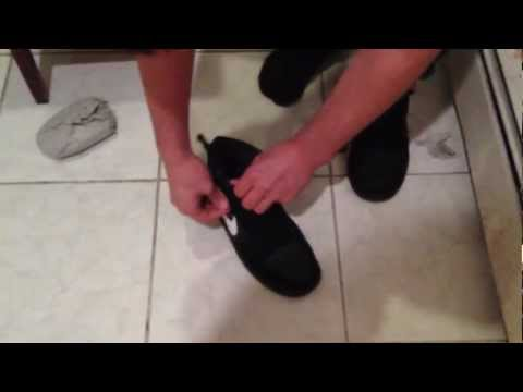 UnBoxing Nike SB Dunk Mid Black White Gum