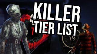 Dead by Daylight (DBD) Killer Tier List! Patch 2.2.2